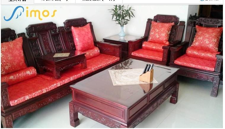 红木家具沙发垫加工-红木家具沙发垫-烟台海纳布艺