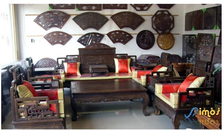 烟台红木家具沙发垫