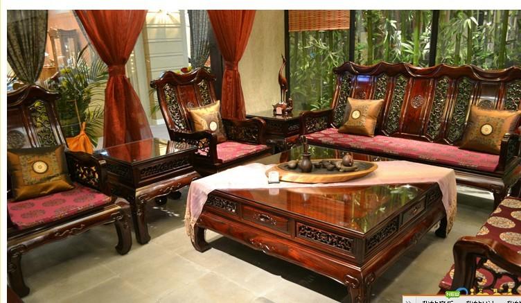烟台红木家具沙发垫-烟台海纳布艺窗帘有限公司